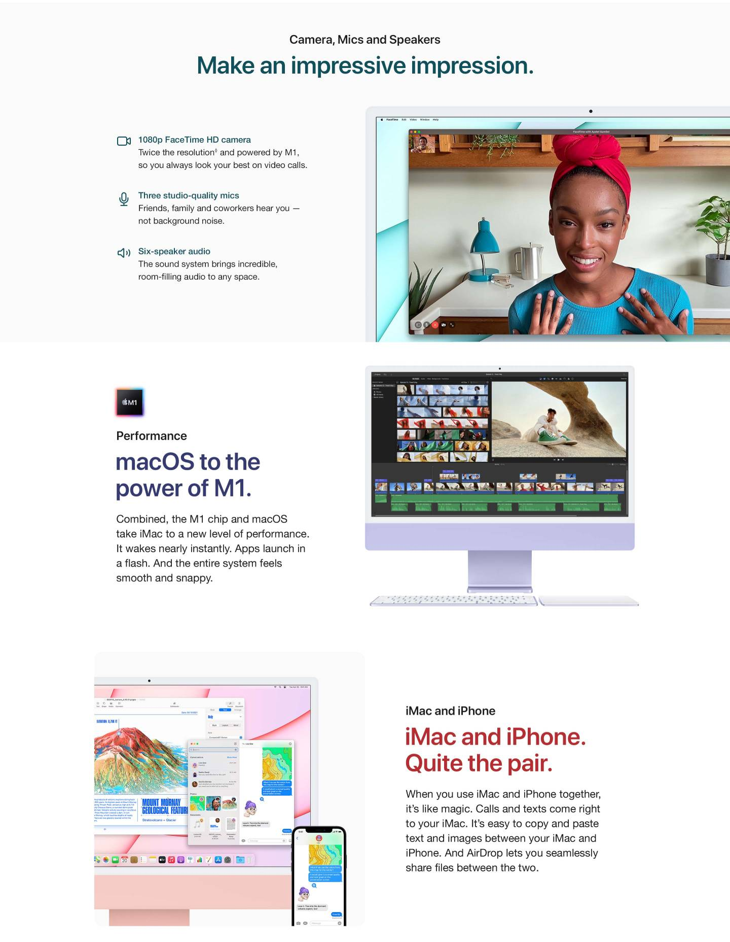 iMac 24-inch with M1 Chip
