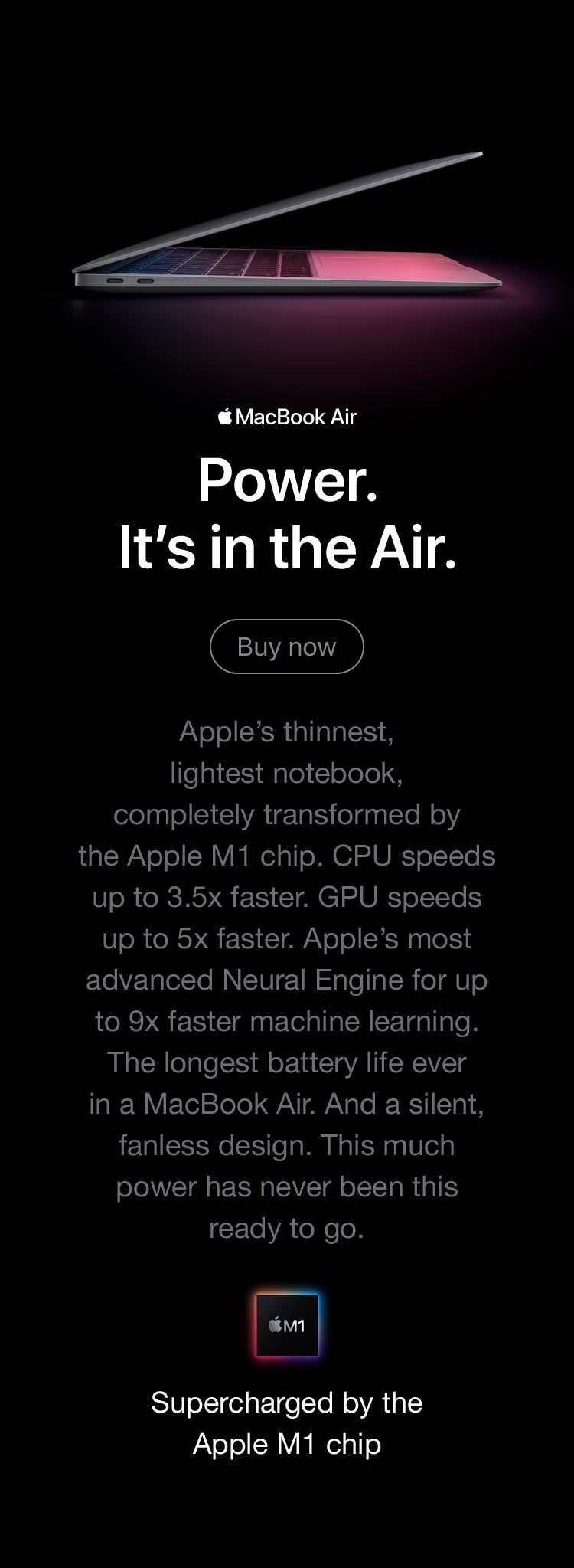13-inch MacBook Air with M1